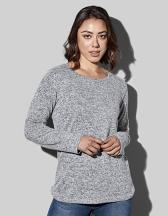 Knit Long Sleeve Sweater Women